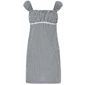 ソリッド&ストライプ Solid & Striped レディース ワンピース ワンピース・ドレス Gingham minidress Black/White