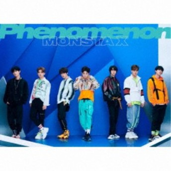 MONSTA X/Phenomenon《限定盤B》 (初回限定) 【CD+DVD】