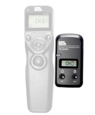 【控光後衛】 PIXEL 品色 TW-283RX 縮時攝影 無線電液晶 快門遙控器 定時快門遙控 接收器 公司貨