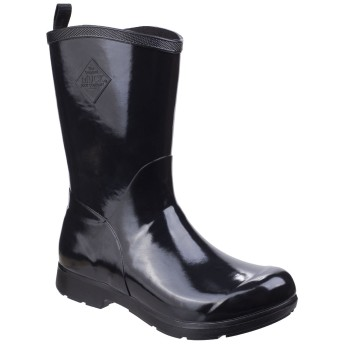 [Muck Boots] (マックブーツ) レディース Bergen ミドル丈 軽量 レインブーツ 婦人長靴 女性用 (4 UK) (ブラック)