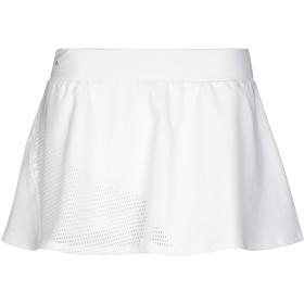 《期間限定 セール開催中》ADIDAS by STELLA McCARTNEY レディース ミニスカート ホワイト S ポリエステル 70% / ポリウレタン 30%