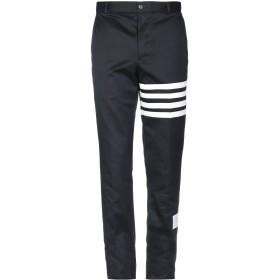 《期間限定 セール開催中》THOM BROWNE メンズ パンツ ダークブルー 2 コットン 100%