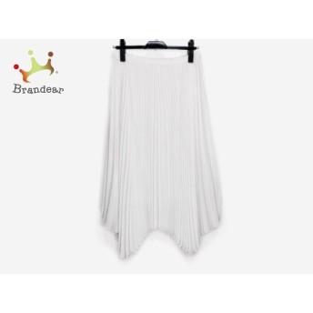 ドレステリア DRESSTERIOR スカート レディース 白 プリーツ 新着 20190725