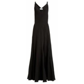 レイ Raey レディース ワンピース ワンピース・ドレス Multi-seam twist-strap silk dress black