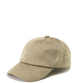 【公式/フリーズマート】フェイクスエードキャップ/女性/ストール・帽子/グレージュ/サイズ:/ポリエステル 100%
