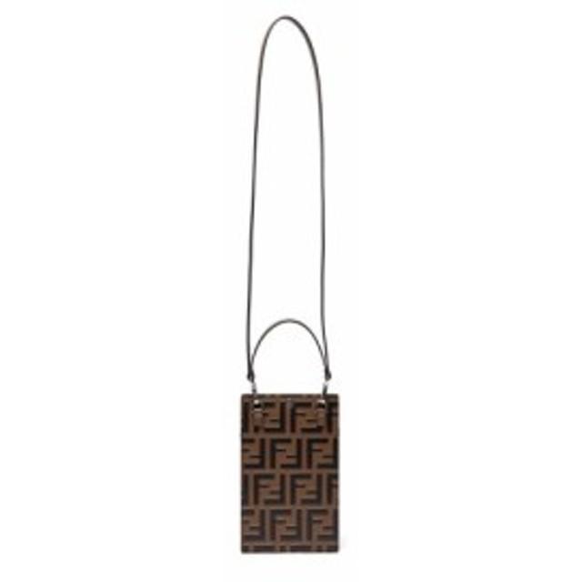 timeless design c4c4c 84615 フェンディ Fendi メンズ iPhone (X)ケース FF logo neck strap ...