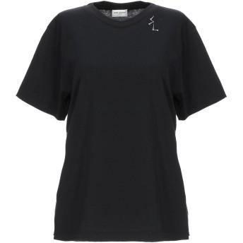 《期間限定セール開催中!》SAINT LAURENT レディース T シャツ ブラック M コットン 100%