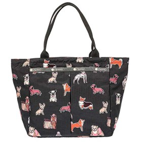 LeSportsac(レスポートサック) トートバッグ 手提げバッグ SMALL EVERYGIRL TOTE ポーチ付 7470 E001 TAKE A BOW WOW [並行輸入品]