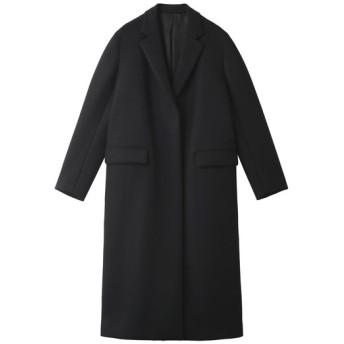 YLEVE イレーヴ 【予約販売】スーパー100'S メルトンチェスターコート ブラック