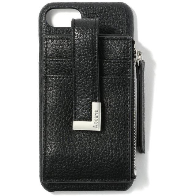 ロイヤルフラッシュ A SCENE/エーシーン/B&C CARD CASE (iphone6/6s/7/8 共通サイズ) レディース BLACK 00 【RoyalFlash】