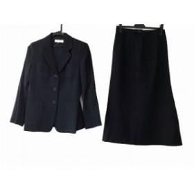 ハリス Harriss スカートスーツ サイズ38 M レディース 美品 ネイビー【中古】20190724