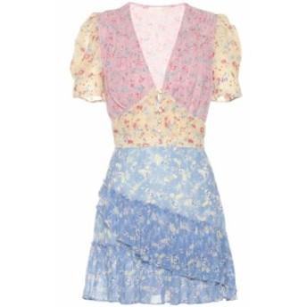 ラブシャックファンシー LoveShackFancy レディース ワンピース ワンピース・ドレス Bea floral silk minidress multi
