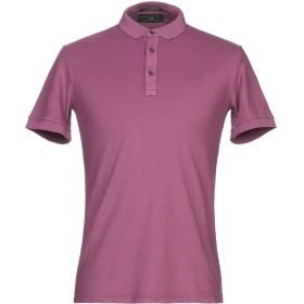 《期間限定セール開催中!》FRED PERRY メンズ ポロシャツ モーブ S コットン 95% / ポリウレタン 5%