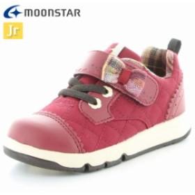 ムーンスター シューズ キッズ ジュニア キャロット CR C2250 レッド 12180202 MS 子供靴 上品でフェミニン