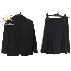 ニジュウサンク 23区 スカートスーツ サイズ38 M レディース 美品 ダークネイビー 新着 20190921