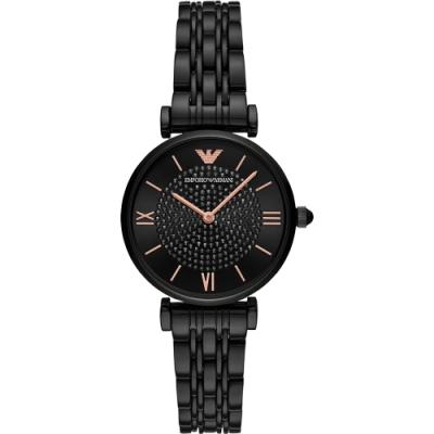 EMPORIO ARMANI 亞曼尼 Ladies 名媛晶鑽手錶 AR11245