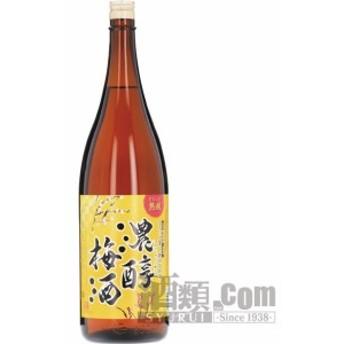 【酒 ドリンク 】濃醇梅酒 1800ml(瓶)(4980)