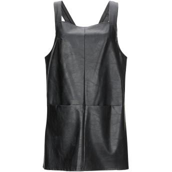《期間限定セール開催中!》RELISH レディース ミニワンピース&ドレス ブラック L ポリウレタン 60% / レーヨン 34% / ポリエステル 6%