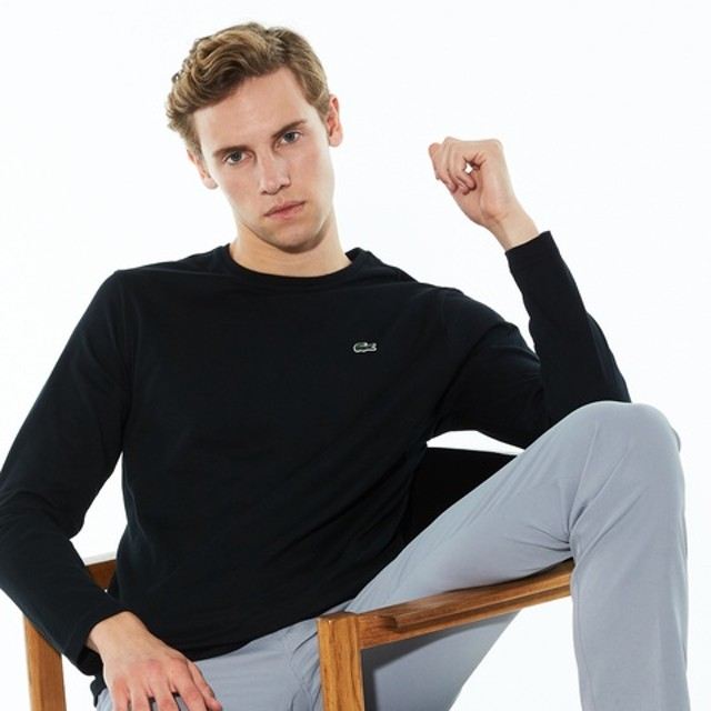 クルーネックTシャツ (長袖)