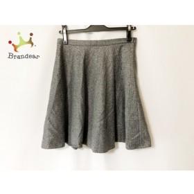 ブルーガールブルマリン BLUGiRL BLUMARINE スカート サイズ40 M レディース 美品 グレー 新着 20190725