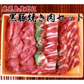 【送料無料】黒豚焼肉セット 700g 鹿児島名産さつまいもを食べて育った「鹿児島黒豚」は、脂肪の質がよく、臭みが無くてジューシー。とろける脂身は絶品です。黒豚焼き肉セット(クール代込み)