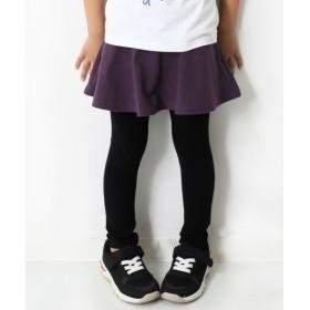 [マルイ] 子供服 キッズ 10分丈 スカッツ 無地 ボトムス スカート 韓国子供服 女の子/デビロック(devirock)