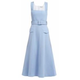エミリア ウィックステッド Emilia Wickstead レディース ワンピース ワンピース・ドレス Petra panelled wool-crepe dress blue