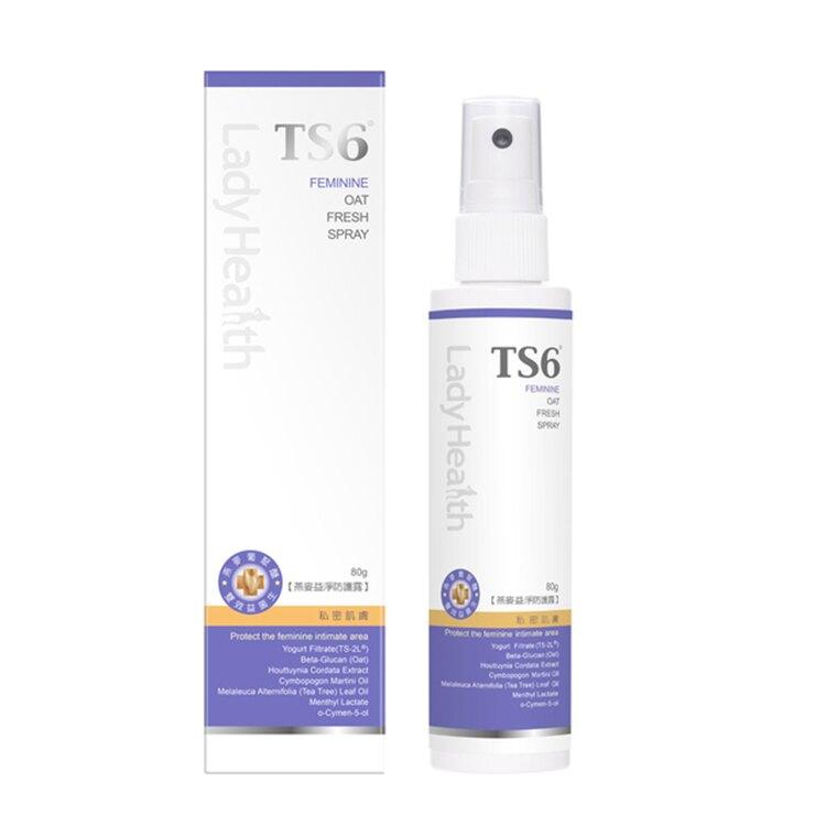 -典安- 私密肌膚 TS6護一生燕麥益淨防護露-80ml/罐
