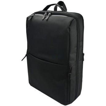 [ムスタッシュオンタイム] ビジネスバッグ リュック 撥水 pc対応 a4 メンズ JJT-2067 ブラック
