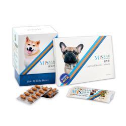 木入森 犬寶膚立好 60顆/盒+變不臭 30包/盒