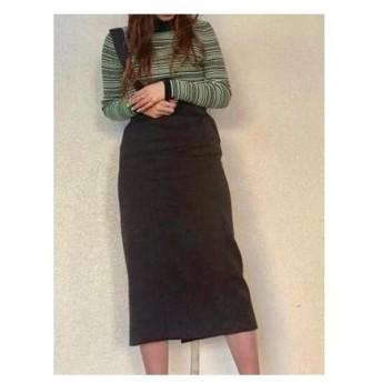 SLY ワンショルダージャンパースカート ブラック
