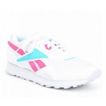 リーボック Reebok レディース シューズ・靴 Rapide Lifestyle Shoe White/Solar Pink/Neon Blue