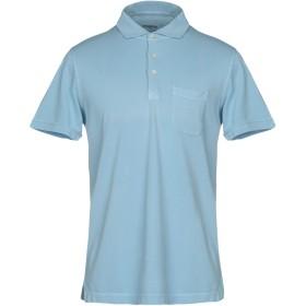 《セール開催中》MALO メンズ ポロシャツ スカイブルー 56 100% コットン