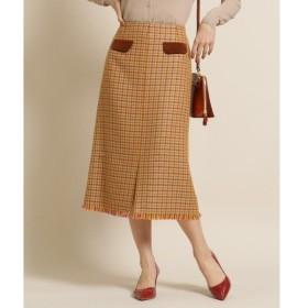 anatelier / アナトリエ specialforanatelier(スペシャルフォーアナトリエ)千鳥格子スカート