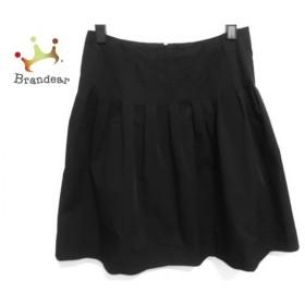 フォクシーニューヨーク FOXEY NEW YORK スカート サイズ40 M レディース 美品 黒   スペシャル特価 20191010