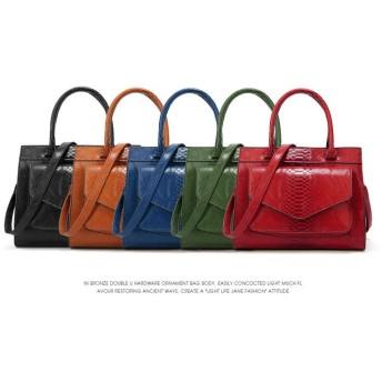 スタイリストレディースバッグ/ハンドバッグ/トートバッグ通勤/外出/旅行バッグ/財布/斜めかけ/カバン/雑誌バッグ/女子かばん-5 colors