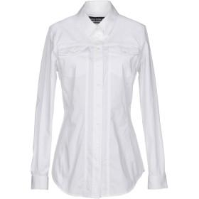 《期間限定 セール開催中》BOUTIQUE MOSCHINO レディース シャツ ホワイト 40 コットン 98% / 指定外繊維 2%