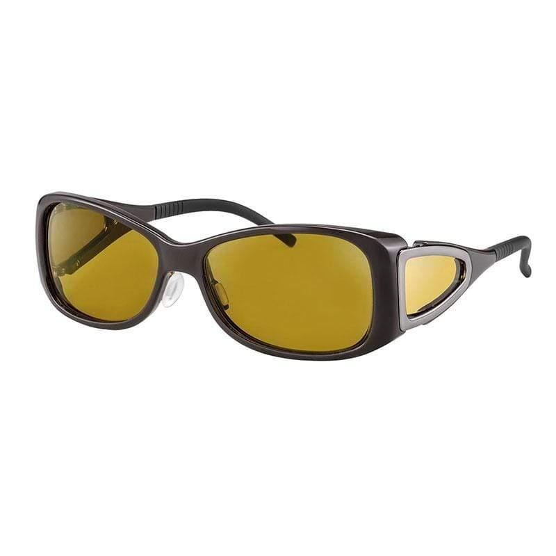 wellnessPROTECT Drive 德國製高防護包覆式濾藍光眼鏡 65%黃色 女版框 (56□15-130)