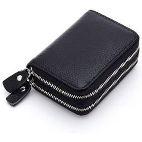Azue 財布 ミニ財布 ミニマリズム 二つ折り財布 小銭入れ 小さい財布 ウォレット ノーカラー レディース 便利 きれい