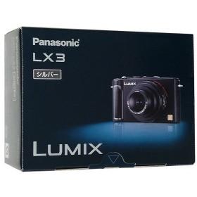 【中古】Panasonic LUMIX DMC-LX3-S シルバー/1010万画素 本体いたみ 元箱あり