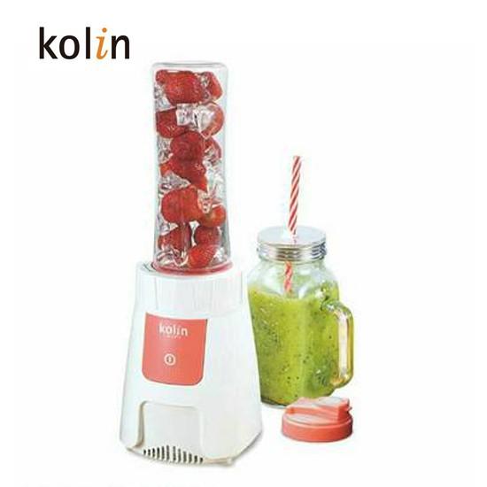 Kolin歌林大馬力(500W強力馬達)冰砂隨鮮杯果汁機(雙杯組) JE-LNP14-1