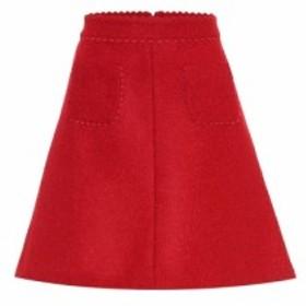 レッド ヴァレンティノ REDValentino レディース ミニスカート スカート Wool-blend miniskirt deep red