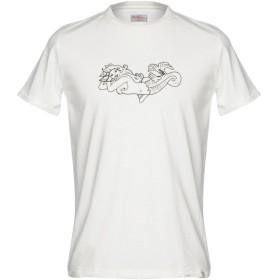《期間限定セール開催中!》RO ROGER'S メンズ T シャツ アイボリー L コットン 100%