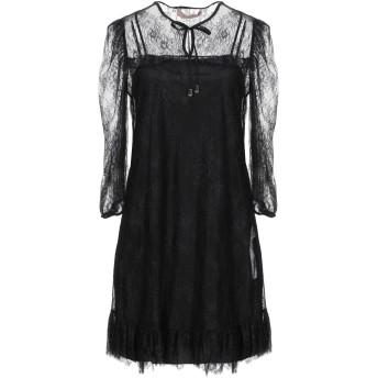 《セール開催中》TWINSET レディース ミニワンピース&ドレス ブラック 46 ナイロン 100% / ポリエステル