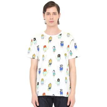 (グラニフ) graniph アーティスト Tシャツ サーファーズ アンド スケーターズ (アシュレイ パーシバル) (ホワイト) メンズ レディース L (g100) (g107) #おそろいコーデ (g100) (g107)