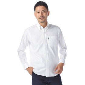 Kent メンズ 形態安定ロイヤルオックスフォード無地ボタンダウンシャツ