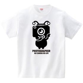 [itaxes] カメラエイリアン(Tシャツ・ホワイト)(Lサイズ) (HSMT design)