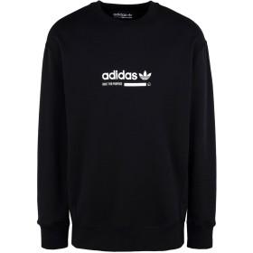 《期間限定 セール開催中》ADIDAS ORIGINALS メンズ スウェットシャツ ブラック L コットン 100% KAVAL CREW