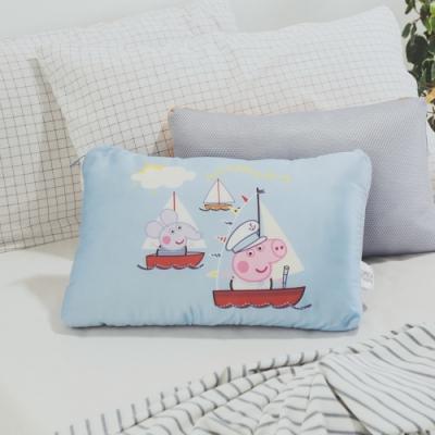 絲薇諾  正版授權  兒童天絲水洗枕1入 - 佩佩豬-海洋喬治