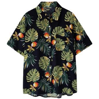 半袖 アロハシャツ 花柄 レディース
